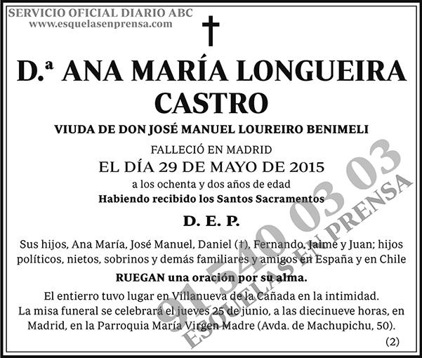 Ana María Longueira Castro